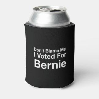 Porta-lata Não me responsabilize que eu votei para Bernie