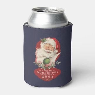 Porta-lata Natal é o momento o mais maravilhoso para uma