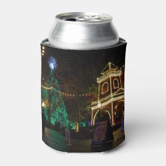 Porta-lata Natal na cidade do dólar de prata