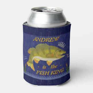 Porta-lata Nome dos pescadores do costume do rei | dos peixes