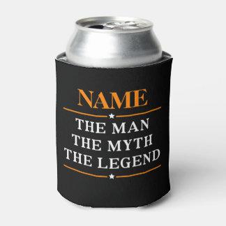 Porta-lata Nome personalizado o homem o mito a legenda