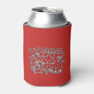Porta-lata Nós fazemo-lo junto refrigerador da lata de bebida