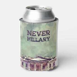 Porta-lata Nunca Hillary Clinton
