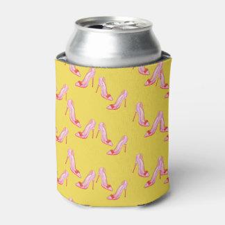 Porta-lata O amarelo pode engarrafar o refrigerador