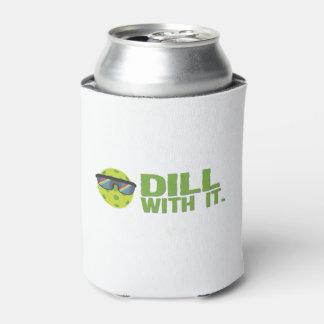 """Porta-lata O """"aneto com ele"""" Pickleball pode refrigerador"""