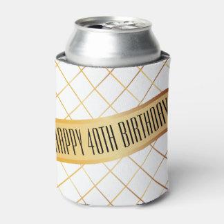Porta-lata (O aniversário feliz | da sua idade) pode