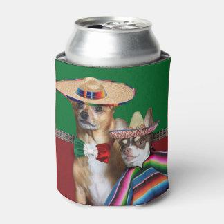 Porta-lata O cão mexicano das chihuahuas pode refrigerador