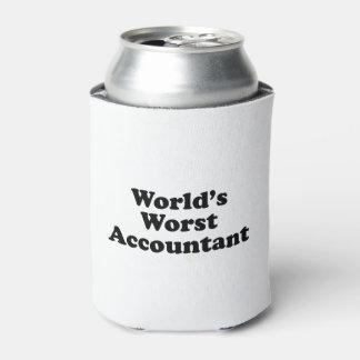 Porta-lata O contador o mais mau do mundo