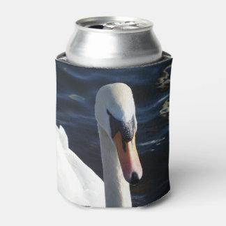 Porta-lata O costume branco da cisne pode refrigerador