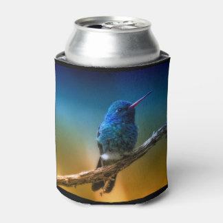 Porta-lata O costume colorido do colibri pode refrigerador