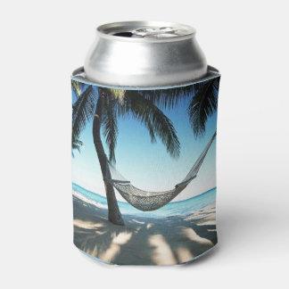 Porta-lata O costume da praia pode refrigerador