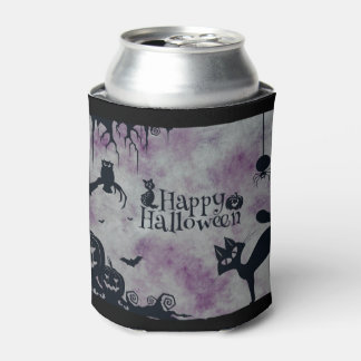 Porta-lata O Dia das Bruxas feliz