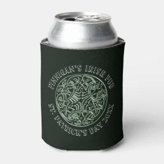 Porta-lata O dia de St Patrick celta verde do design
