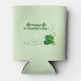 Porta-lata O dia de St Patrick feliz pode refrigerador