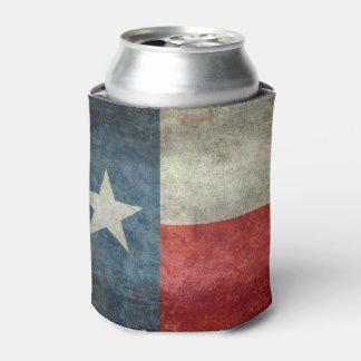 Porta-lata O estilo retro do vintage da bandeira do estado de