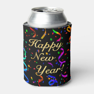 "Porta-lata O ""feliz ano novo! """