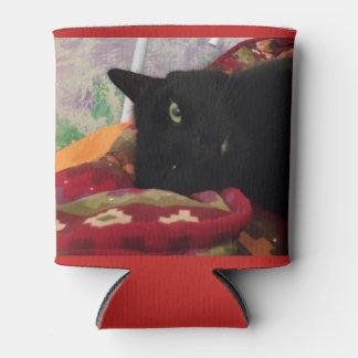 Porta-lata O gato preto pode suporte