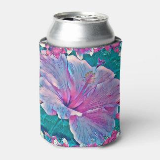Porta-lata O hibiscus #2 pode refrigerador
