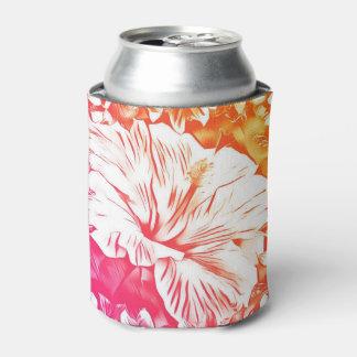 Porta-lata O hibiscus pode refrigerador