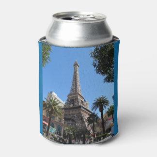 Porta-lata O hotel & o casino de Paris Las Vegas podem