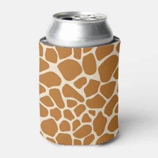 Porta-lata O impressão do girafa pode refrigerador