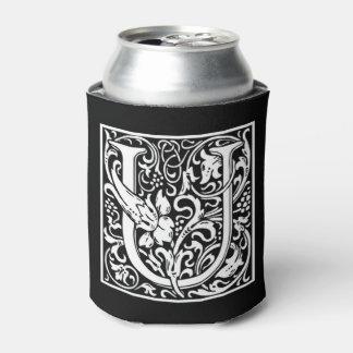 Porta-lata O monograma U pode refrigerador