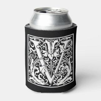 Porta-lata O monograma V pode refrigerador
