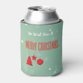 Porta-lata O Natal pode refrigerador