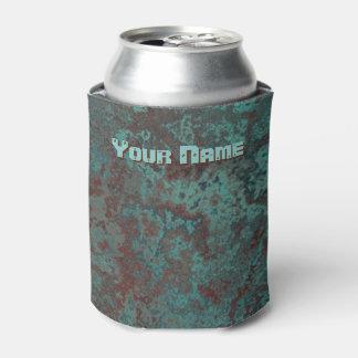 """Porta-lata O nome """"de cobre"""" do impressão da corrosão pode"""