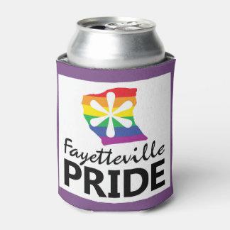 Porta-lata O orgulho de Fayetteville pode refrigerador