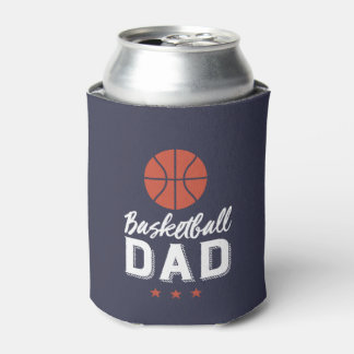 Porta-lata O pai retro do basquetebol do vintage ostenta o