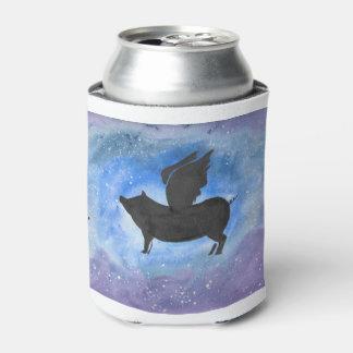 Porta-lata O porco majestoso do vôo pode refrigerador