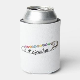 Porta-lata O #SafeWithMe pode refrigerador
