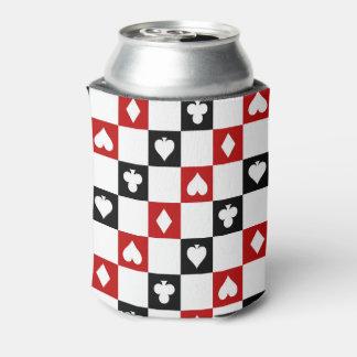 Porta-lata O teste padrão do terno do partido do póquer pode