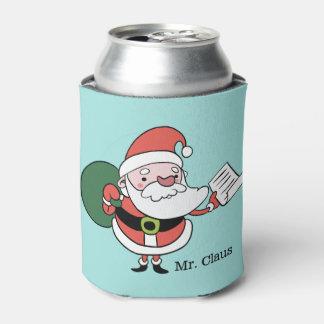 Porta-lata O texto feito sob encomenda de Papai Noel pode