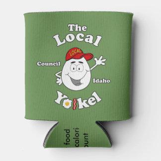 Porta-lata O Yolkel local - pode Koozie
