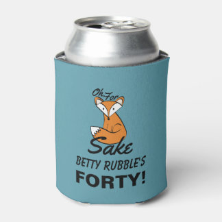 Porta-lata Oh, porque aniversário de 40 anos da causa do Fox