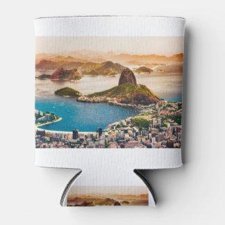 Porta-lata Opinião da arquitectura da cidade de Rio de