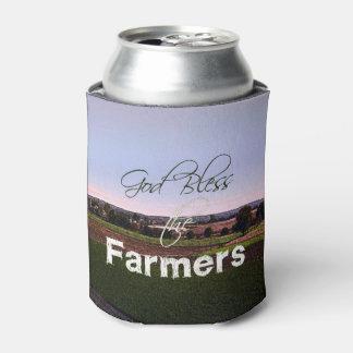 Porta-lata Os deus abençoe os fazendeiros enlatam o