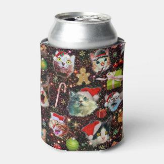 Porta-lata Os gatos do Natal na galáxia do espaço Stars o
