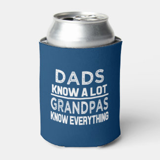 Porta-lata Os pais engraçados sabem muito mas os vovôs sabem