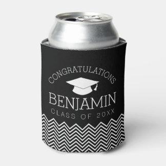 Porta-lata Os parabéns graduam a graduação PODEM COR do EDIT