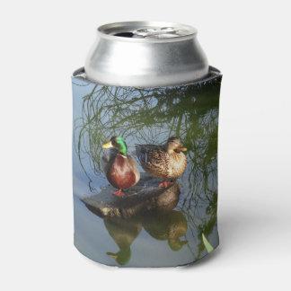 Porta-lata Os patos #2 do pato selvagem podem refrigerador