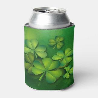 Porta-lata Os trevos de St Patrick