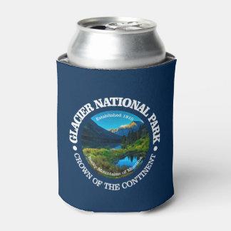 Porta-lata Parque nacional de geleira