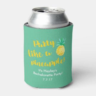 Porta-lata Partido como um suporte da bebida de Bachelorette
