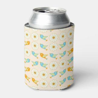 Porta-lata Pássaros e margaridas