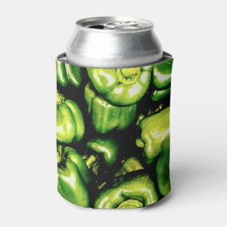 Porta-lata Pimentas de Bell verdes
