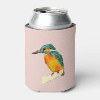 Porta-lata Pintura da aguarela do pássaro do martinho