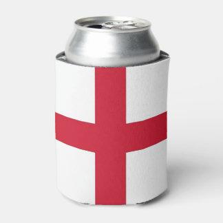 Porta-lata Pode o refrigerador com a bandeira de Inglaterra,